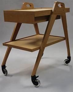 Servante A Roulette : mobilier table servante roulette vintage 60 ~ Melissatoandfro.com Idées de Décoration