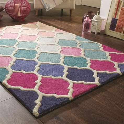 tapis bleu  rose rosella flair rugs en  tapis