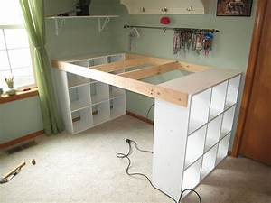 Pimp My Kallax : do it yourself white craft desk ~ Markanthonyermac.com Haus und Dekorationen