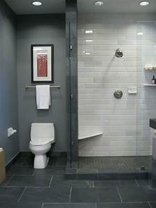 to da loos grey bathrooms are they a good idea With carrelage adhesif salle de bain avec led screen panel