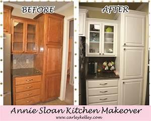 Annie Sloan Kitchen Makeover Carley Kelley