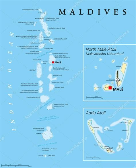 fotos mapa politico de maldivas mapa politico de