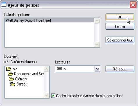 installation de d 39 écriture sous windows