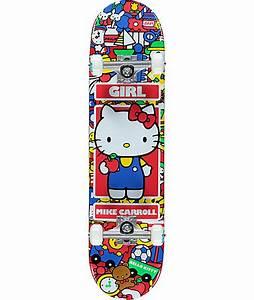 Hello Kitty Decke : girl x hello kitty carroll complete skateboard zumiez ~ Sanjose-hotels-ca.com Haus und Dekorationen