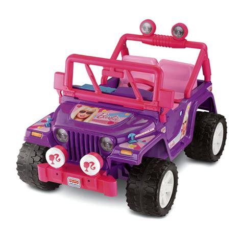 power wheels jeep barbie ali krieger