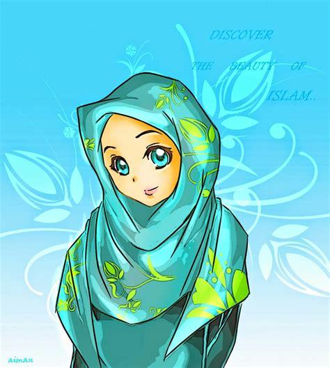 koleksi gambar gambar kartun islami terbaru gambar kartun