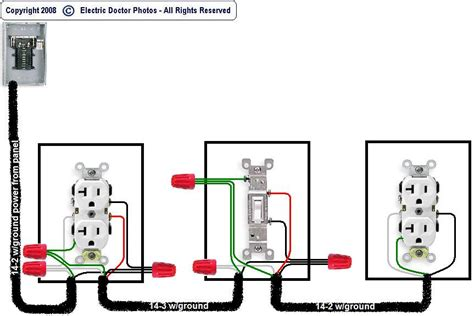 switched receptacle diagram wiring library ayurve co