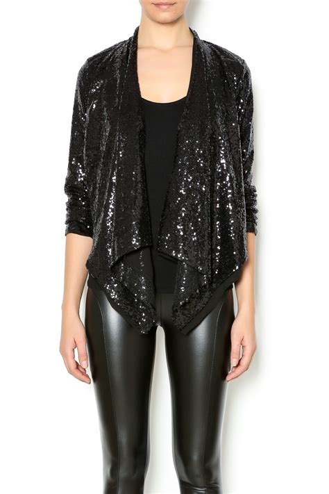 double  sequin jacket  alaska  apricot lane