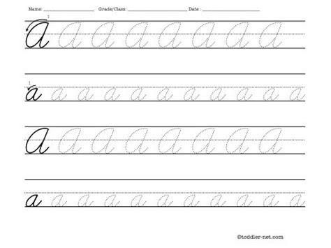 Cursive Letters Practice Sheets Pdf Theveliger