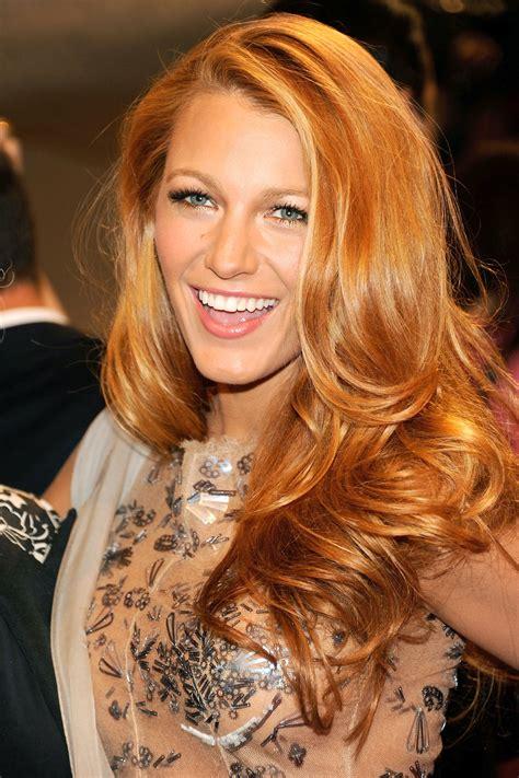 Best Strawberry Blonde Hair Color Shades Best Celebrity