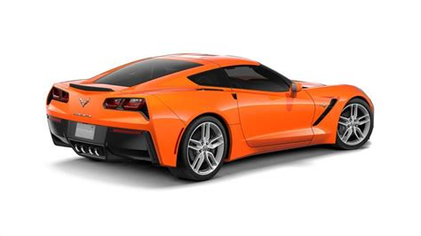 chevrolet corvette orange  miami stockk