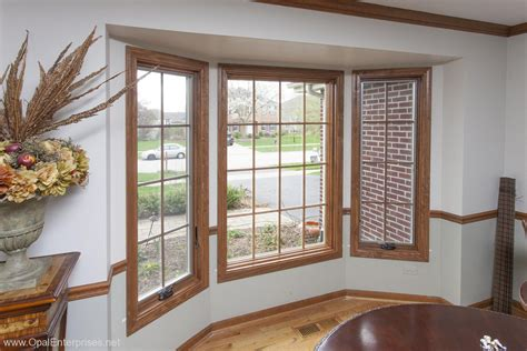 perfect match  custom stained andersen windows naperville window replacement opal