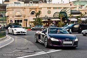 Audi Monaco : video loud quicksilver audi r8 v10 in monaco tunnels gtspirit ~ Gottalentnigeria.com Avis de Voitures