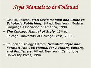 Council Of Biology Editors Style Manual 6th Edition