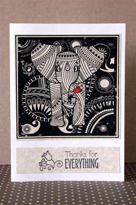 elephant  images diwali cards homemade greeting