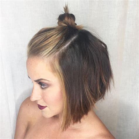 hair buns styles for medium hair cool bun hairstyles for hair hairstyles 5313