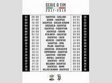 Calendario Juventus Serie A 20172018 ecco tutte le