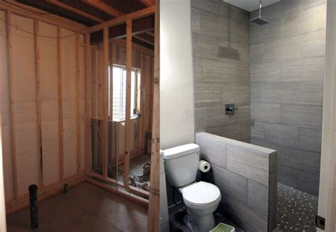 basement bathroom renovation ideas how to finish a basement bathroom before and after pictures