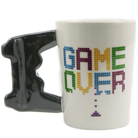 1piece Game Over Coffee Mug Game Controller Handle Ceramic