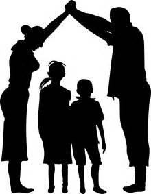 Family Silhouette Clip Art Transparent
