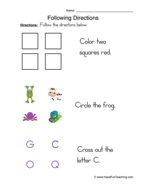 basic skills worksheets  fun teaching