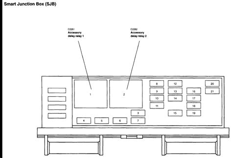 2005 Ford Freestar Fuse Box Diagram by Where Can I Find A Fuse Box Diagram For A 2005 Ford Freestar