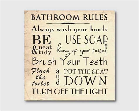 printable bathroom etiquette signs 8 best images of vintage bathroom printables
