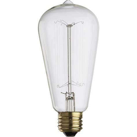 Cb2 Arc Lamp Bulb by Vintage Filament 60w Light Bulb Cb2