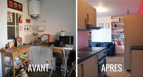 renovation cuisine bois avant apres renover sa cuisine avant apres dootdadoo com idées de