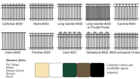 chain link fence post aluminum fence styles orlando aluminum fene types in florida