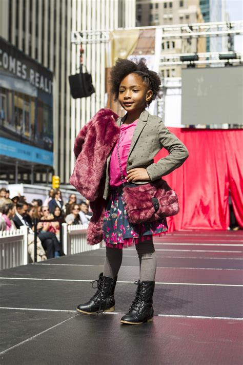 france kids runway show poster child magazine