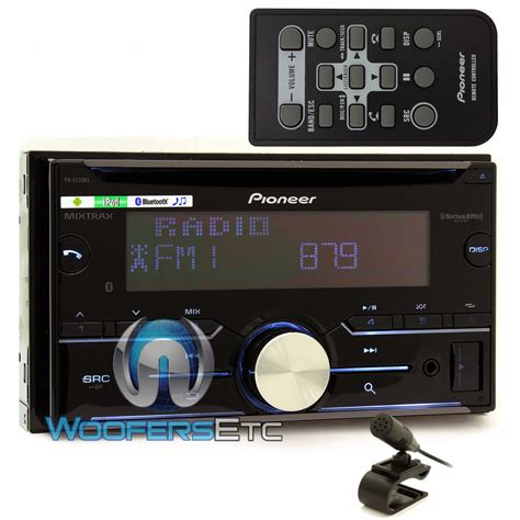 pioneer fh x730bs in dash 2 din cd mp3 bluetooth stereo receiver with pandora link and mixtrax