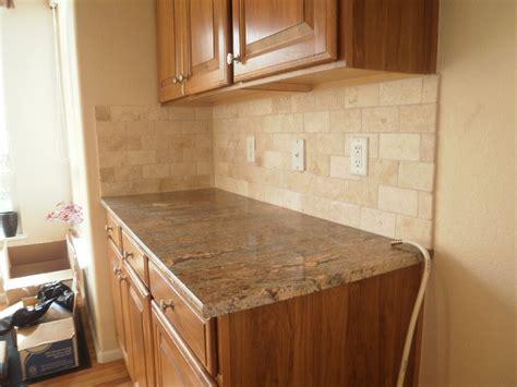 travertine kitchen backsplash travertine tile patterns for kitchens range