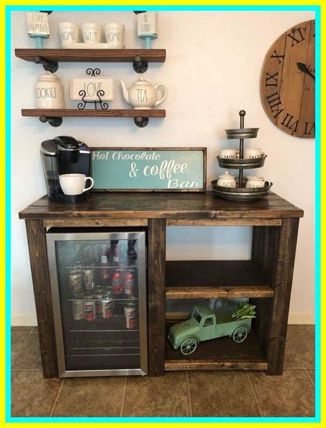 Check out our mini fridge bar selection for the very best in unique or custom, handmade pieces from our furniture shops. 93 reference of bedroom coffee bar with mini fridge in 2020   Coffee bar design, Coffee bar home ...