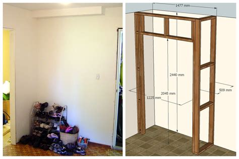 Building A Wardrobe by Built In Wardrobe 10 Steps With Pictures