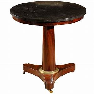 Gueridon Table Empire Period At 1stdibs