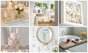 Deko Für Badezimmer : einfache diy badezimmer dekoration ~ Watch28wear.com Haus und Dekorationen