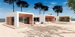 Maison Architecte Plain Pied : construction d 39 une maison d 39 architecte moderne a cazaux mcc construction ~ Melissatoandfro.com Idées de Décoration
