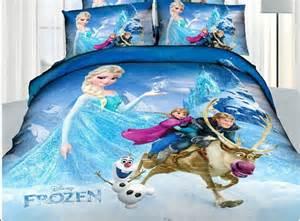 princess elsa anna frozen cartoon bedding set flat sheet