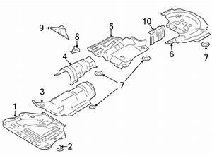 Ford Escape Fuel Tank Shield  Rear  Liter  Heat
