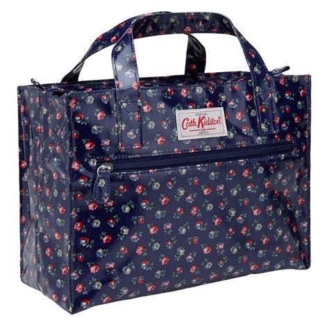 lyst cath kidston elgin ditsy floral print box bag  blue