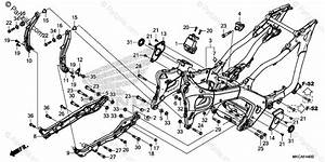 Honda Motorcycle 2019 Oem Parts Diagram For Frame