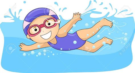foto de Swimming Stock Vector Illustration And Royalty Free