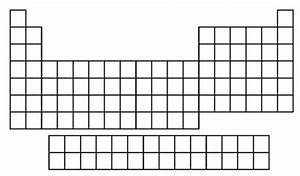 Tabla periodica vacia para completar imagui esqueleto de tabla periodica imagui urtaz Images