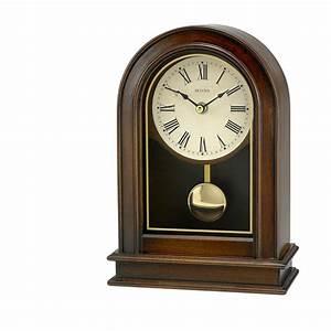 Bulova, Hardwick, Pendulum, Table, Clock, B7467