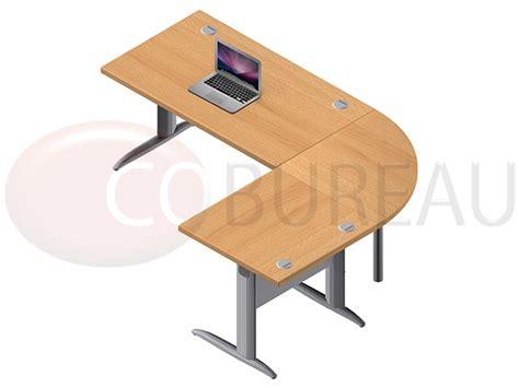 pro bureau ensemble bureau 140 cm pro métal avec angle de liaison 90