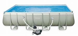 Intex Frame Pool 549x274x132 : 28358 piscina ultra frame cm 457x274x122 ~ Yasmunasinghe.com Haus und Dekorationen