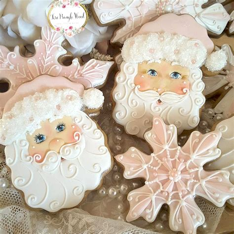Decorating christmas cookies is much easier than you think, plus there's a video to help with your cookie decorating. 14 Gorgeous Pastel Christmas Decorated Sugar Cookies ...