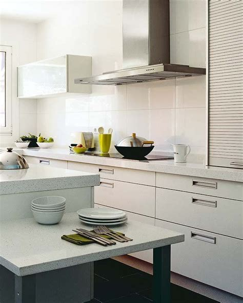 cocinas azulejos rectangulares blancos buscar  google