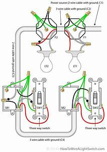 3 Way Switch Wiring Diagram 2 Lights